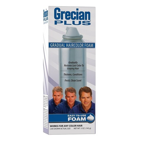 Grecian Plus Gradual 5-ounce Haircolor Foam