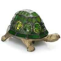 Dozer Green Turtle Table Lamp