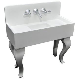 Authentically Styled 1930's Vintage Style Wooden Kitchen Sink, Use For 18 Inch Doll Furniture & Accessories