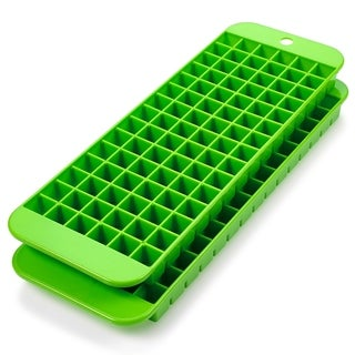 Set of 2 Cubette Mini Ice Cube Trays in Green