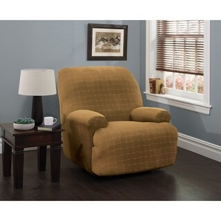 Stretch Sensations Stretch Basketweave Jumbo Recliner Slipcover