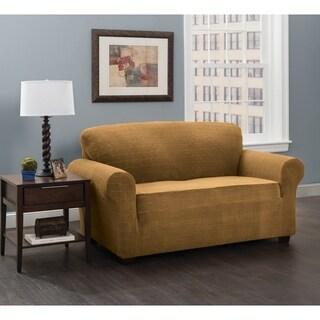 Stretch Sensations Stretch Basketweave Sofa Slipcover