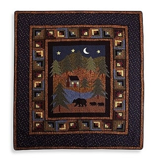 Donna Sharp Midnight Bear Throw