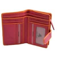 Visconti Emily E2 Large Bifold Soft Leather Ladies Purse Wallet