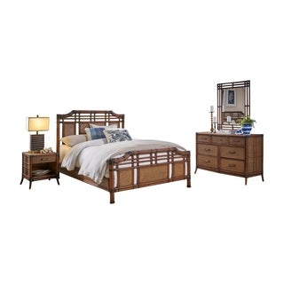 Palm Cove 6 PC Complete Queen Bedroom Set