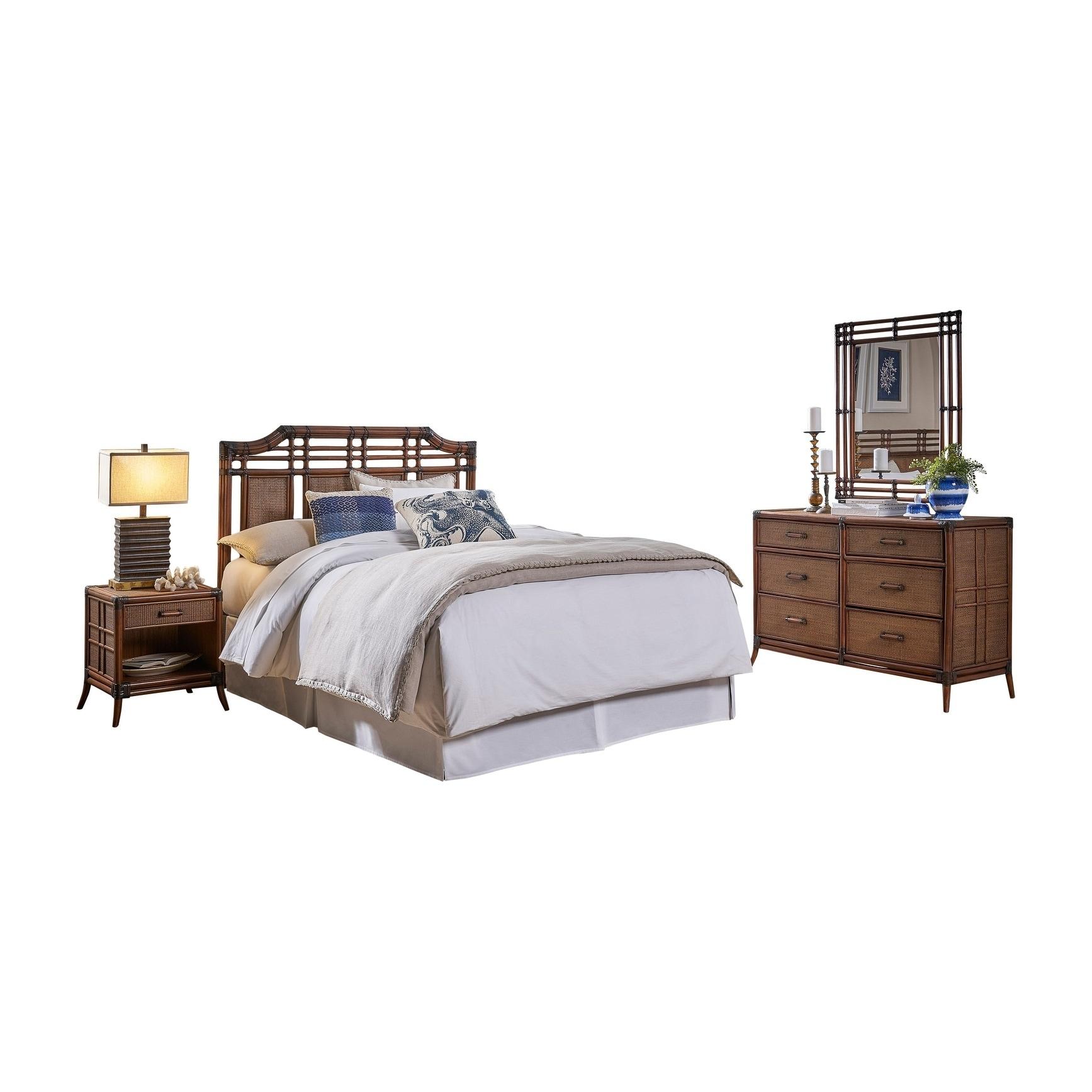 Palm Cove 4 Pc Queen Bedroom Set