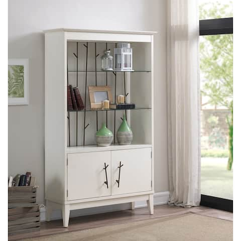 Carson Carrington Modern Famhouse Display Cabinet
