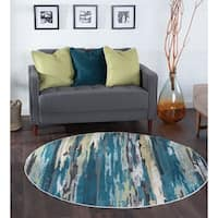 Alise Rugs Montez Contemporary Stripe Area Rug - 7'10