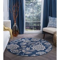 Alise Rugs Carrington Transitional Floral Area Rug - 5'3