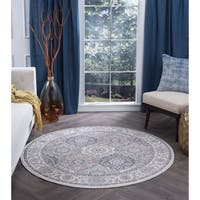 Alise Rugs Carrington Traditional Oriental Area Rug - 7'10