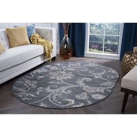 "Alise Rugs Carrington Transitional Floral Area Rug (5'3 x 7'3 Oval) - 5'3"" x 7'3"""