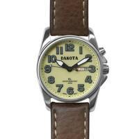 Dakota Men's Steel Angler Watch with Moonglow EL