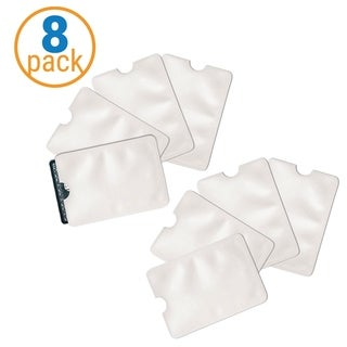 Safety Sleeves RFID Blocking Credit Card & Identity Theft Protection 8Pk