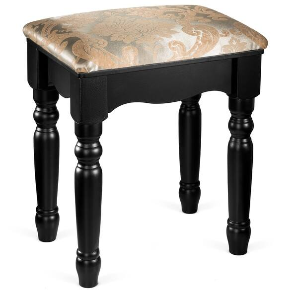 Shop Fineboard Luxury Vanity Stool Makeup Dressing Stool Pad Cushioned Chair For Vanity Tables And Bedroom Sets Overstock 18787959