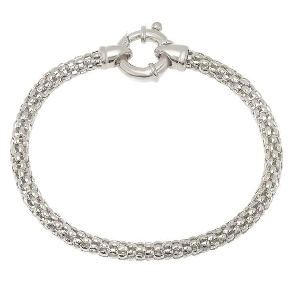 Shop Pori Jewelers Sterling Silver Popcorn Bracelet On