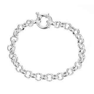 Pori Jewelers Sterling Silver Rolo Chain Bracelet