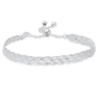 Pori Jewelers Sterling Silver Adjustable Slider Bracelet