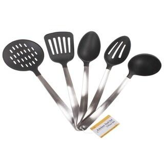 Stainless Steel & Nylon Heat Resistsnt Kitchen Tool Utensil Set