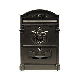 ALEKO Elegant Wall Mounted Mail Box with Retrieval Door