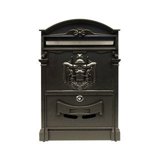 ALEKO Elegant Wall Mounted Mail Box with Retrieval Door