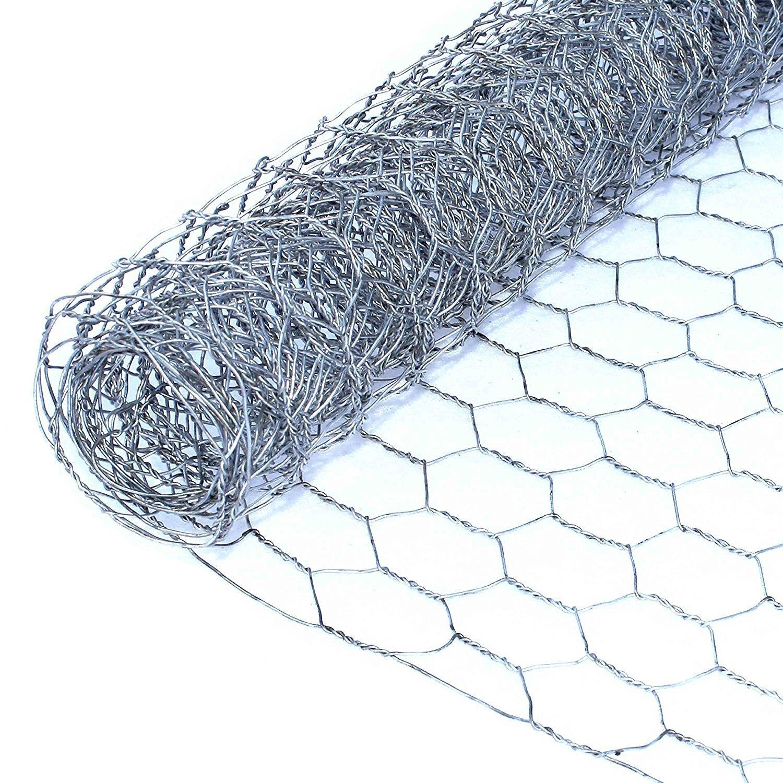 "Aleko Wire Roll Cloth Fence 20 Gauge Steel 8' L 42"" H 1"" ..."