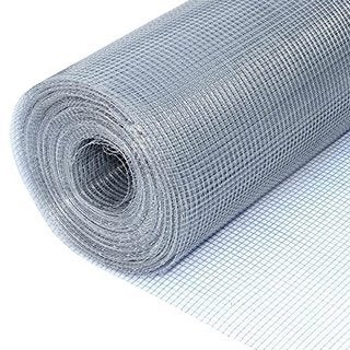 "ALEKO Wire Roll Cloth Fence 23 Gauge Steel 100' L 48"" H 1/4 Inch Mesh"