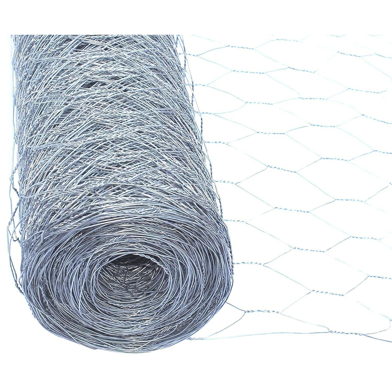 "Aleko Wire Roll Cloth Fence 20 Gauge Steel 72"" H x 150' L..."