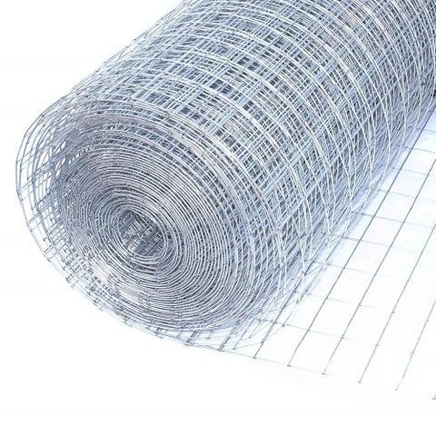 "ALEKO Wire Roll Cloth Fence 16 Gauge Steel 24"" H x 25' L 1x2"" Mesh"