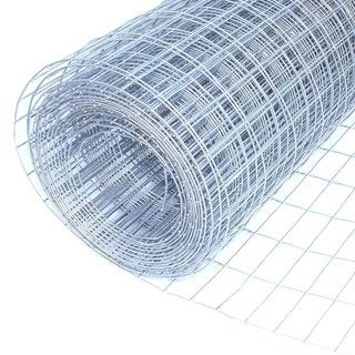 "ALEKO Wire Roll Cloth Fence 16 Gauge Steel 10' L 30"" H 1/2x1 Inch Mesh"
