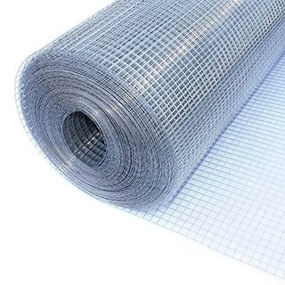 "ALEKO Wire Roll Cloth Fence 19 Gauge Steel 36"" H x 50' L 1/2"" Mesh"