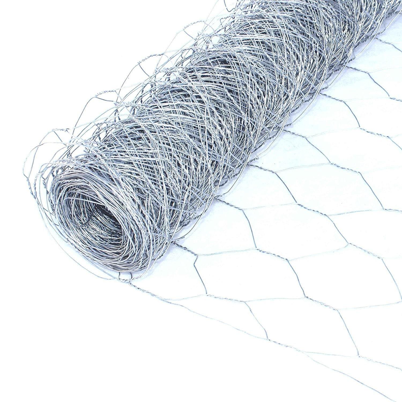"Aleko Wire Roll Cloth Fence 20 Gauge Steel 36"" H x 50' L ..."