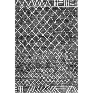 Dynamic Textiles Oasis Black Area Rug (5'3 x 7'7)