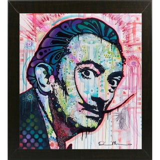 """Dali Framed Print 25.75""""x23.5"""" by Dean Russo- Exclusive"""