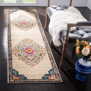 Vibrant Bohemian Ivory Red Area Rug 2 7 X 10 Free