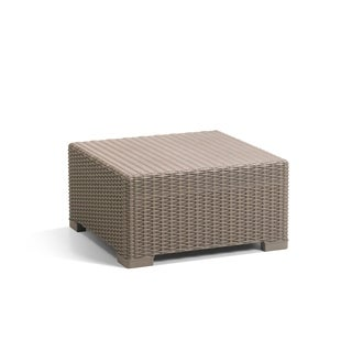 Keter California All-Weather Resin Outdoor Patio Coffee Table