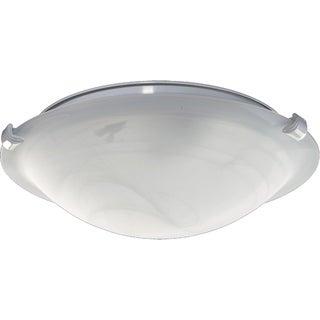 Quorum International Low Profile Glass Bowl Light Kit (3 options available)