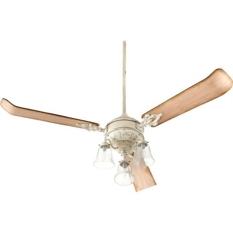 "Quorum International Traditional Fan Light Kit for the Brewster 60"" Fan - n/a"