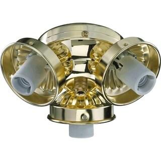 Quorum International Traditional Light Kit 3 Socket Cluster