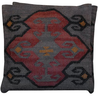 Handmade Herat Oriental Kilim Pillows (Set of Two)