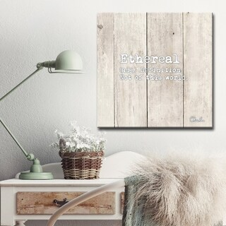 Olivia Rose 'Define Ethereal' Inspirational Textual Canvas Art