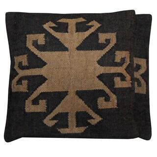 Handmade Herat Oriental Kilim Pillows (Set of Two)