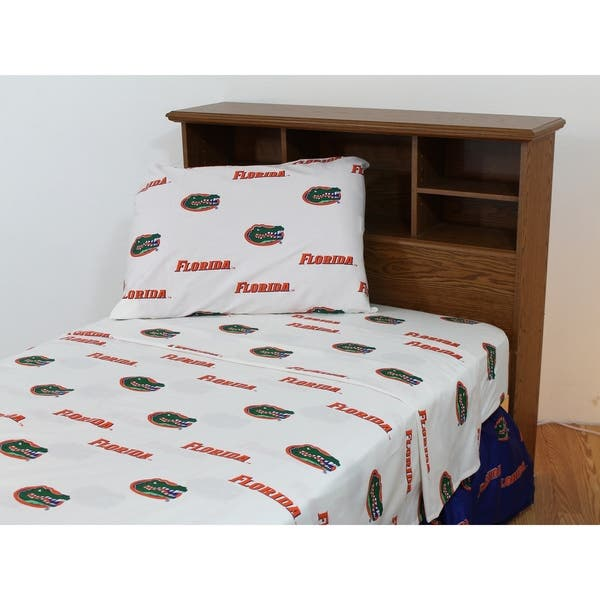 College Covers Florida Gators Sheet Set Full Multicolor