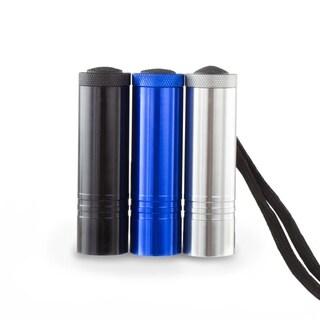 Aluminum Ultra Bright Pocket Flashlight - Assorted 3 Pack