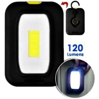 Pocket Flashlight Slimline Magnetic & Hanger Battery Operated