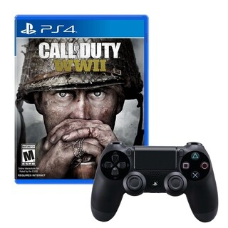 Dualshock 4 Wireless Controller With COD WWII Game