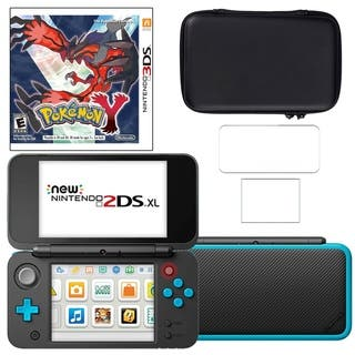 New Nintendo 2DSXL with Pokemon Y Carry Case and Screen Protector https://ak1.ostkcdn.com/images/products/18794446/P24863294.jpg?impolicy=medium