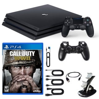 PlayStation 4 Pro Console COD WWII and Accessories