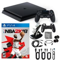 Playstation 4 1TB Core Console with NBA 2K and Accessories Kit