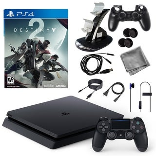PlayStation 4 1TB Core Console with Destiny 2 Game and Accessories Kit