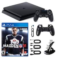 Playstation 4 1TB Core Console with Madden NFL 18 and Accessories